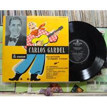 Carlos Gardel Interpretando Famosos Tangos - Lp 10p Odeon