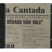 Tom Zé Cd Single Vaia De Bêbado Não Vale Nacional Usado 1999