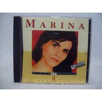 Cd Original Marina- Minha História