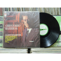 Gregório Barrios Guantanamera - Lp Odeon 1967