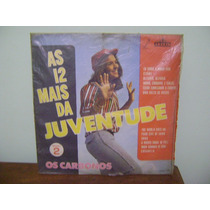 Disco Lp Vinil Os Carbonos As 12 Mais Da Juventude Vol 2