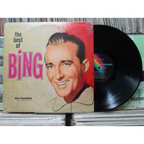 The Best Of Bing Crosby - Lp Mca Records 1977 Importado