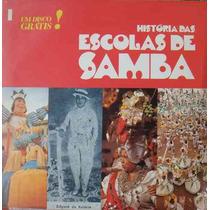 História Das Escolas De Sambas Vol.1 Lp + Fascículo 1975