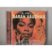 Sarah Vaughan The Magic Of Sarah Vaughan 25 Tracks Cd Zerado