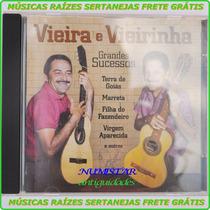 Cd Sertanejo Vieira E Vieirinha Catira Música Marreta Cuiabá