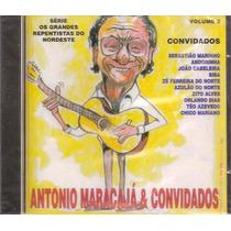 Cd Antonio Maracajá & Convidados Novo Repentistas Raro