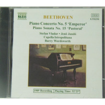 Cd Beethoven Piano Concerto Nº 5 Piano Sonata Nº 15