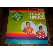 Lp Tonico E Tinoco Presépio Autografado 1968