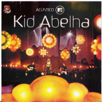 Cd Original Kid Abelha - Acustico Mtv