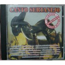Cd Canto Sertanejo - Sucessos Inesquecíveis Frete Gratis