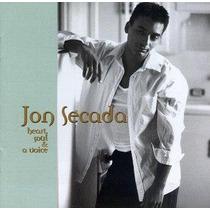Jon Secada Heart Soul & A Voice Cd Dance Music Dj