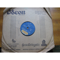 78 Rpm Celly Tony Campello Canario Lenda Conchinha Jovem Gua