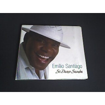 Cd Emilio Santiago -só Danço Samba - Capa Digpac