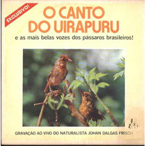 Johan Dalgas Frisch Compacto De Vinil O Canto Do Uirapuru