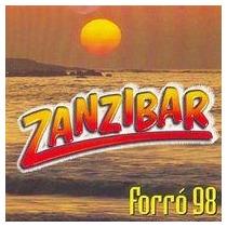 Cd Zanzibar - Forró 98 - Frete Gratis