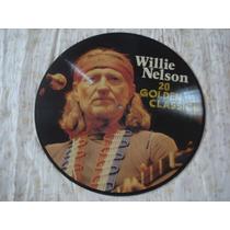 Willie Nelson-picture Disk-lp-vinil-20 Golden Classics-rock