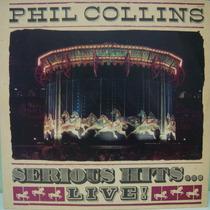 Lp - Phil Collins - Serious Hits... Live! (duplo) - Mbc