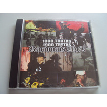 Cd Original Racionais Mcs - 1000 Trutas 1000 Tretas Ao Vivo