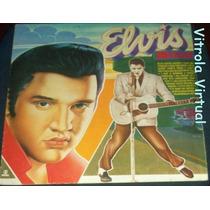 Lp Elvis Presley 10 Anos De Saudade 1987 Globo Discos