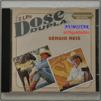 Cd Sertanejo Sérgio Reis Música Cavalo Enxuto Bicho Do Mato