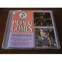 Pepeu Gomes : Série Dois Momentos ~ Cd Raro 2 Albums Em 1 Cd