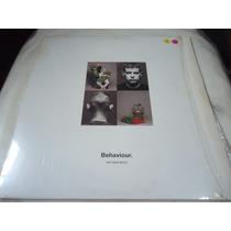 Lp - Pet Shop Boys - Behaviour 1990 (c3)