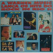 A Warner Lança Os Hits Do Rock In Rio 2 Lp Prince A-ha Plant