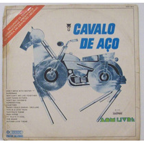 Lp Novela Cavalo De Aço - Internacional - Som Livre - 1973