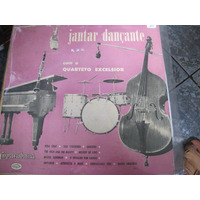 Lp = 10 Polegadas Quarteto Excelsior Jantar Dançante