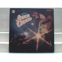 Lp Novela Amor Cigano Nac. E Int. 1983