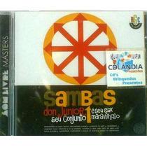 Cd Don Junior Seu Conjunto E Sax- Original-lacrado-cdlandia