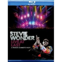 Blu-ray Stevie Wonder: Live At Last Importado E Lacrado