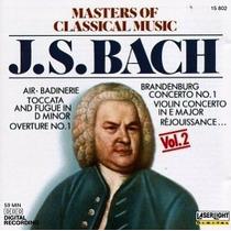 Cd Masters Of Classical : Bach - Importado Frete Gratis