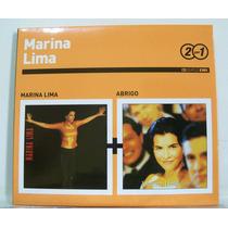 Marina Lima, Marina Lima / Abrigo, Cd Duplo Digipak Original