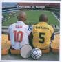 Cd Caju & Castanha Embolando No Futebol 1ª Ed. 2005 Lacrado