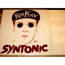 Lp Kon Kan - Syntonic (2º Lp - 90) Encarte C/ As Letras