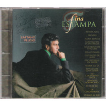 Cd Caetano Veloso Fina Estampa