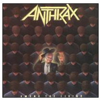 Cd Anthrax Among The Living [eua] Novo Lacrado