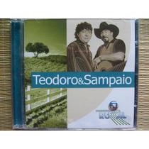Cd Globo Rural Teodoro & Sampaio A Gostosona Raridade