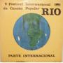 5º Festival Internacional Canção Popular Rio - 1970