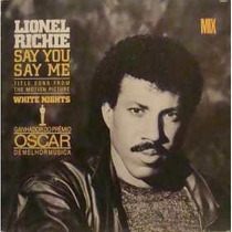 Lionel Richie 12 Single Promo Say You Say Me