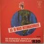 3º Festival Internacional Da Canção Popular - Philips- 1968