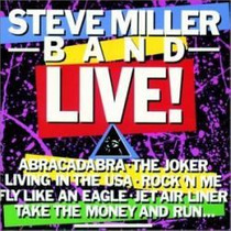 Lp - Steve Miller Band - Live (abracadabra)