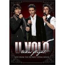 Dvd Il Volo Takes Flight Live Detroit [eua] Novo Lacrado