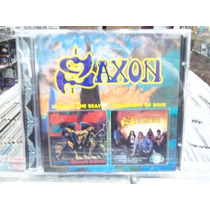 Saxon Unleash The Beast/champions Of Rock Cd Importado 2x1