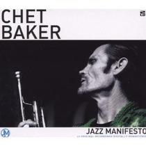 Cd Chet Baker - Jazz Manifesto ( Imp. Uk Duplo Lacrado 2008