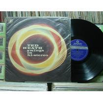 Ted Heath Sua Música Swings In Stereo - Lp London Jazz