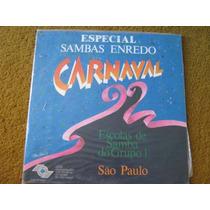 Lp Sambas Enredo Escolas Sao Paulo Grupo 1 Carnaval Tucuruvi