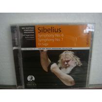 Sibelius - Symphony No.6 & No.7 - Cd Importado