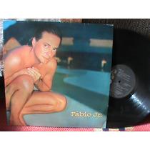 Lp Fabio Junior - Canção Da Paz 1995 Rca Fabio Jr Com Encart